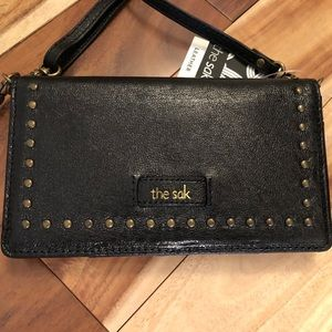 The SAK Phone Holder Wallet Crossbody Wristlet NEW